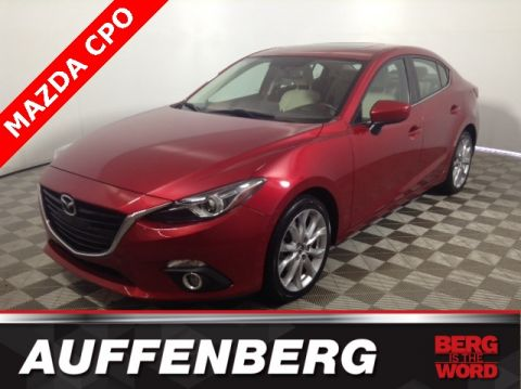 Certified Pre Owned 2015 Mazda3 S Grand Touring
